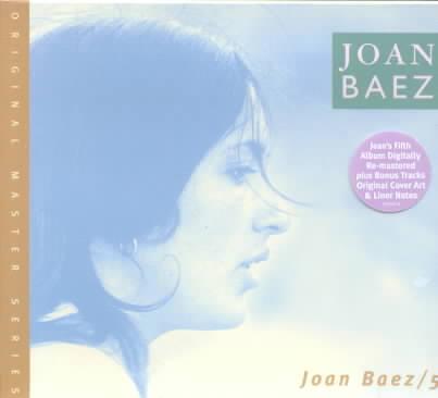 5 BY BAEZ,JOAN (CD)