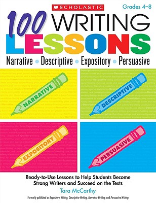 100 Writing Lessons By McCarthy, Tara